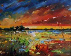 Obraz olejny krajobrazu - Niezwykłe malarstwo olejne